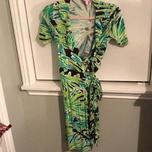 Lilly Pulitzer Wrap Dress sz XS